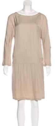 Paul & Joe Knee-Length Long Sleeve Dress