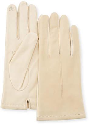 Portolano Tech Suede & Napa Leather Short Gloves