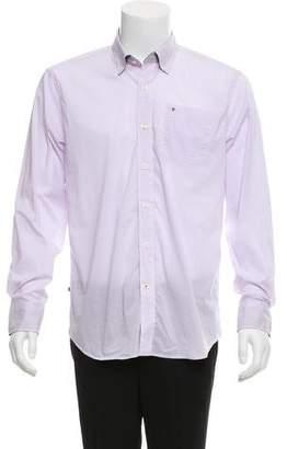 Victorinox Stretch Poplin Tatter Button-Up Shirt w/ Tags