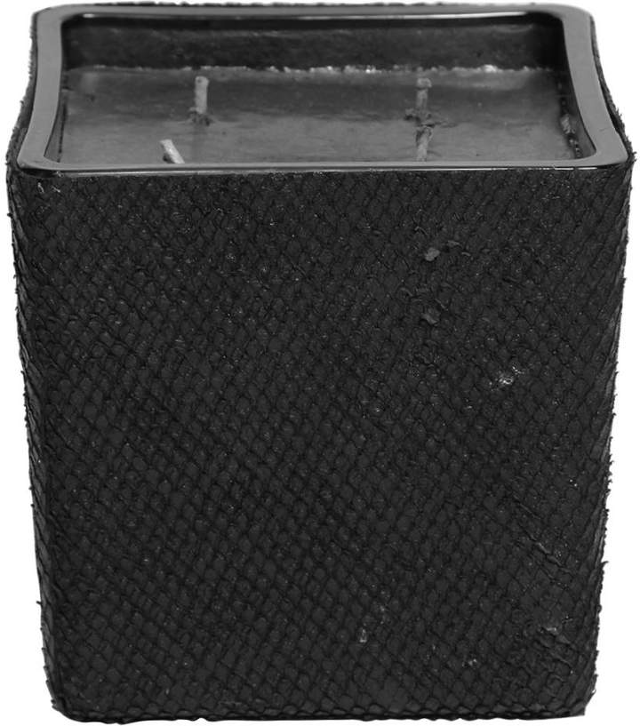 Geprägtes Vase Mit Lederbezug