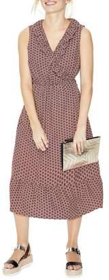 Boden Nancy Linen Midi Dress (Regular & Petite)