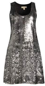 MICHAEL Michael Kors Sequin Slip Dress