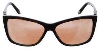 Tiffany & Co. Embellished Cat-Eye Sunglasses