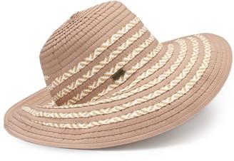 Betmar Women's Corsica Wide Brim Sun Hat