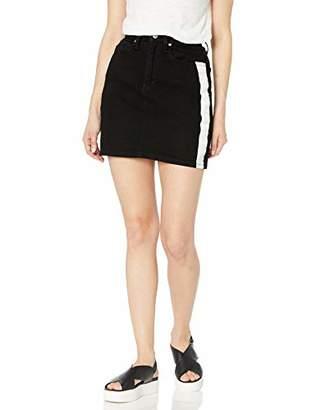 Calvin Klein Women's Denim Mini Jean Skirt