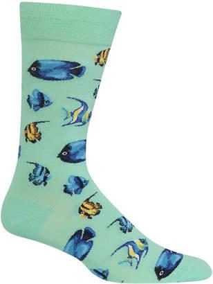 Hot Sox Men's Tropical Fish Socks