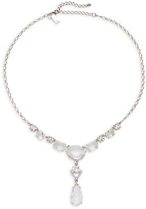 Kate Spade Crystal Cascade Mini Necklace