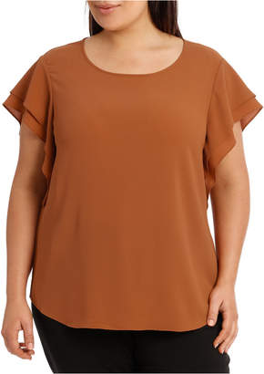 Must Have Double Flutter Sleeve Top