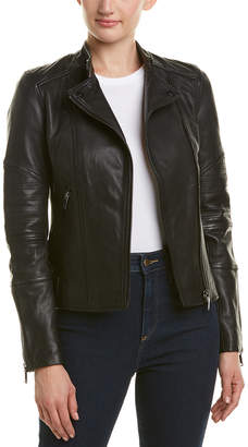 Reiss Taylor Leather Jacket