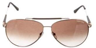 Tom Ford Rick Aviator Sunglasses