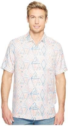 Tommy Bahama Trio Geo Camp Shirt Men's Clothing