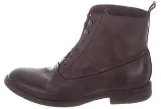 Sartore Laceless Leather Ankle Boots