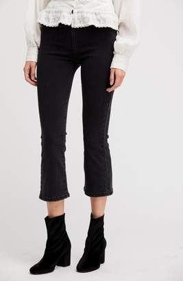 Free People Ultra High Waist Crop Bootcut Jeans