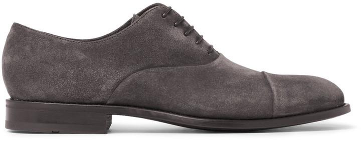Hugo BossHugo Boss Stockholm Suede Oxford Shoes