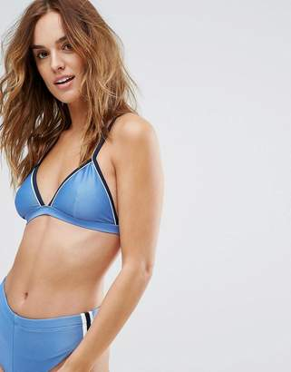 RVCA Throwback Triangle Bikini Top