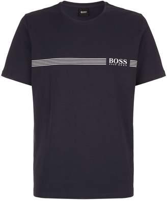 HUGO BOSS Heritage Logo Stripe T-Shirt
