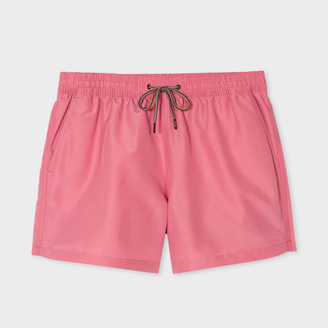 Paul Smith Men's Pink Swim Shorts $125 thestylecure.com