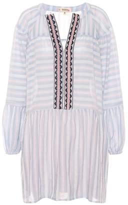 Lemlem Nefasi striped cotton-blend dress