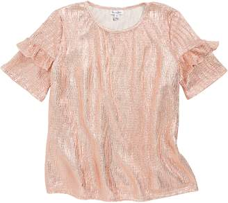 Love, Fire Ruffle Top