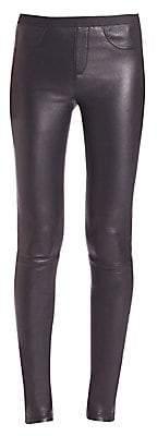 Helmut Lang Women's Leather Leggings