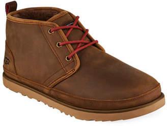UGG Men's Neumel Waterproof Full-Grain Leather Chukka Boots