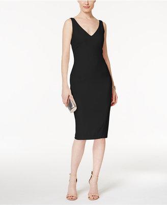 RACHEL Rachel Roy Crepe Midi Dress $139 thestylecure.com