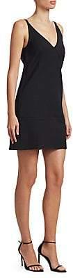 Helmut Lang Women's V-Back Mini Dress