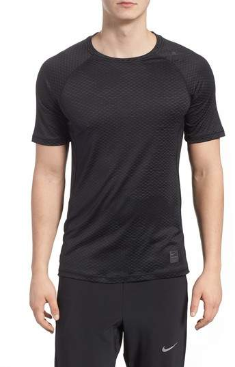 Nike Pro HyperCool Fitted Crewneck T-Shirt