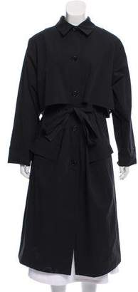 La Garçonne Moderne Long Button-Up Coat