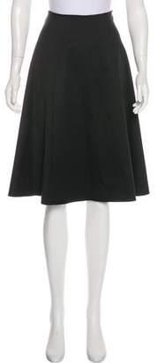 Behnaz Sarafpour A-Line Knee-Length Skirt