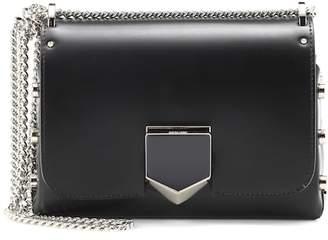 Jimmy Choo Lockett Petite leather shoulder bag