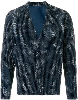 Issey Miyake Homme Plissé pleated jacket