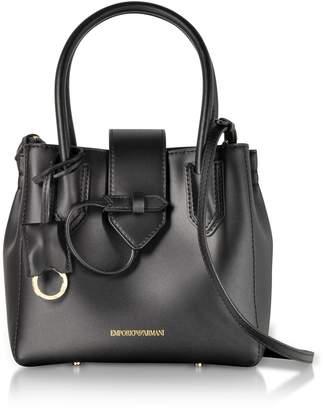 Emporio Armani Genuine Leather Satchel Bag