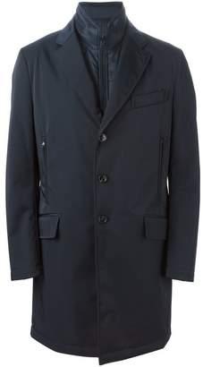 Fay internal vest rain coat