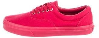 Vans Canvas Low-Top Sneakers