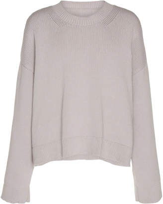 Maison Margiela 5 Gauge Oversized Rib-Knit Cotton-Blend Sweater