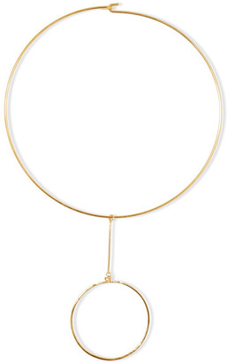 Kenneth Jay Lane - Gold-plated Choker - one size $50 thestylecure.com