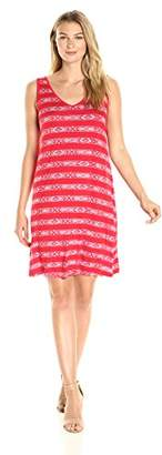 G.H. Bass & Co. Women's Geo Stripe Dress