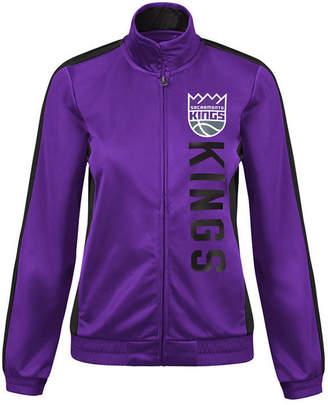 G-iii Sports Women Sacramento Kings Backfield Track Jacket