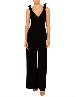Zimmermann Espionage Bow Jumpsuit