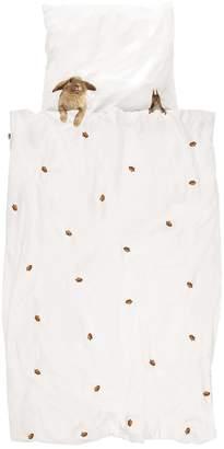 Snurk Acorn Cotton Duvet Cover Set For Crib