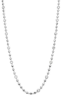 Ippolita Sterling Silver Rock Candy® Long Multi Stone Necklace in Clear Quartz, 40""