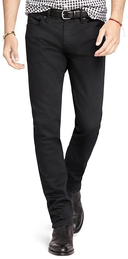 Polo Ralph LaurenPolo Ralph Lauren Stretch Denim Slim Fit Jeans in Billings Black - 100% Bloomingdale's Exclusive