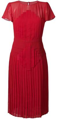 Capucci pleated midi dress