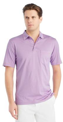 J.Mclaughlin Callahan Polo in Fine Stripe