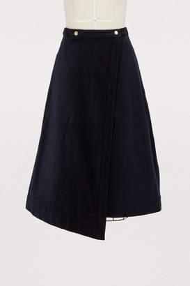 Acne Studios Wrap skirt