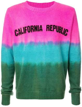 The Elder Statesman California Republic sweater