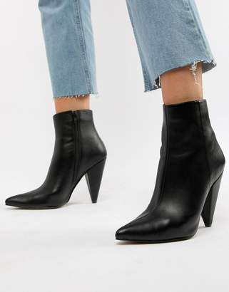 98b203d74ef Asos Black Pointed Toe Boots For Women - ShopStyle UK