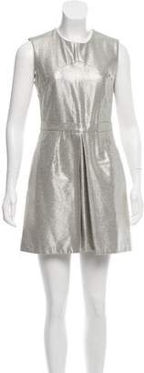 Markus Lupfer Metallic Mini Dress