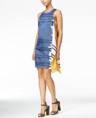 RACHEL Rachel Roy Patterned Shift Dress, Only at Macy's $129 thestylecure.com